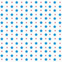 Фетр Звездочки Синие