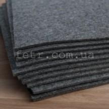 Войлок 2 мм, 250 г/м2 Цвет: серый