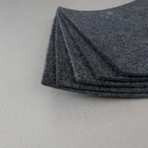 Войлок 3 мм, 400 г/м2 . Цвет: темно-серый Декор