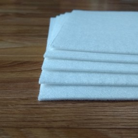 Войлок 2 мм, 300 г/м2 Цвет: Белый
