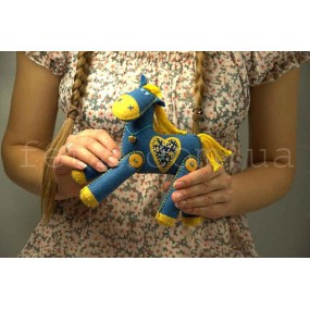 Набор для шитья «Лошадка Клаптик»