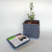 Гроубэг (текстильный горшок) для выращивания растений