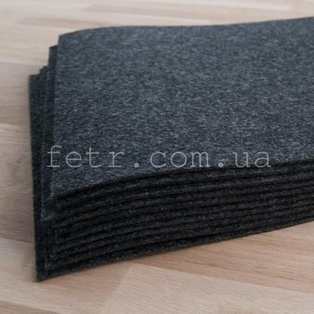 Войлок 3 мм, 450 г/м2 Цвет: темно-серый
