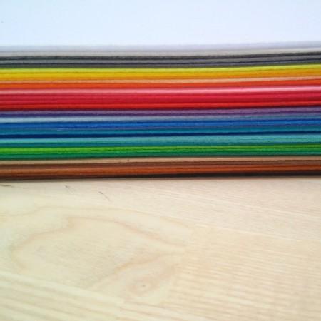 Фетр Микс корейский жесткий, 43 цвета