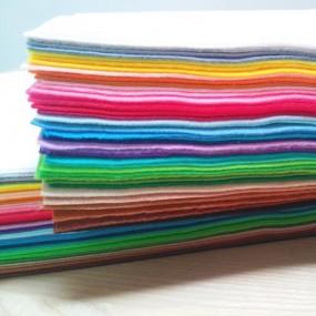 Фетр Микс корейский мягкий, 44 цвета
