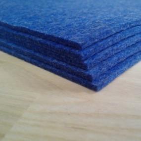 Войлок, 3 мм, 500 г/м2 Цвет: синий меланж