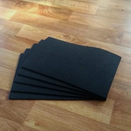 Войлок 3 мм, 500 г/м2. Цвет: черный