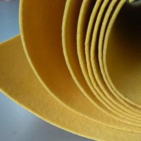 Войлок, 3 мм, 450 г/м2 Цвет: Желтый