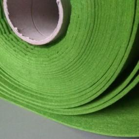 Войлок, 3 мм, 450 г/м2 Цвет: Зеленый