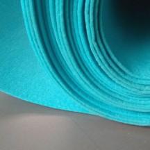 Войлок, 3 мм, 450 г/м2 Цвет: Бирюзовый